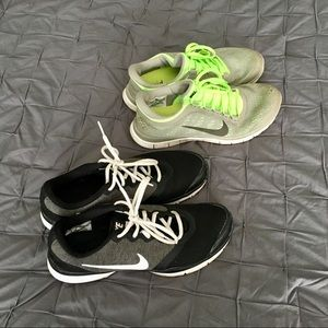 2 pairs of Nikes size 8.5